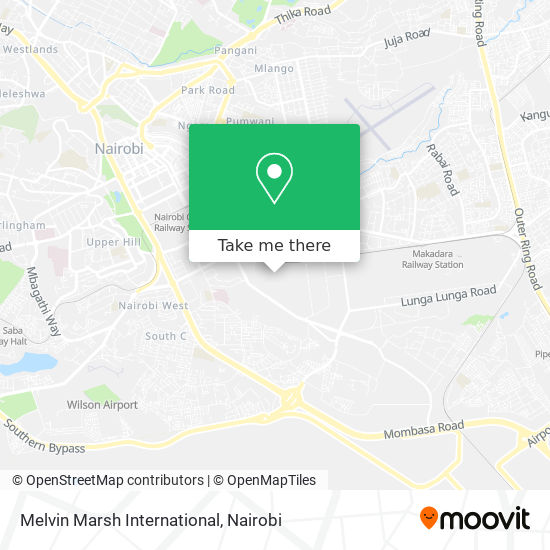 Melvin Marsh International map