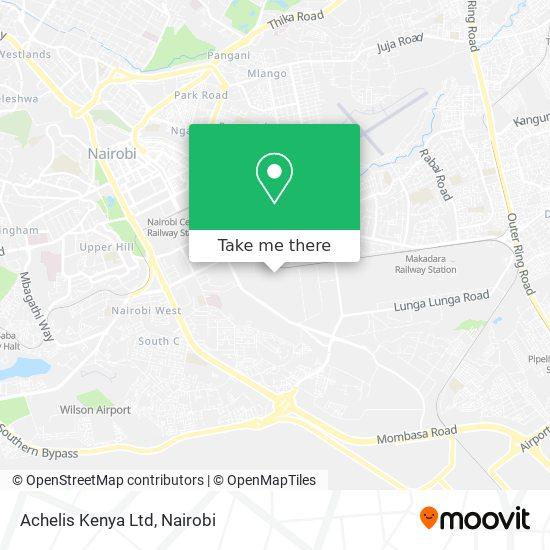 Achelis Kenya Ltd map