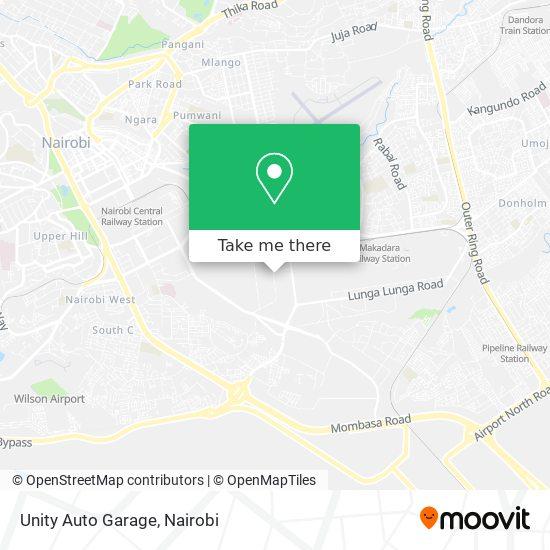 Unity Auto Garage map