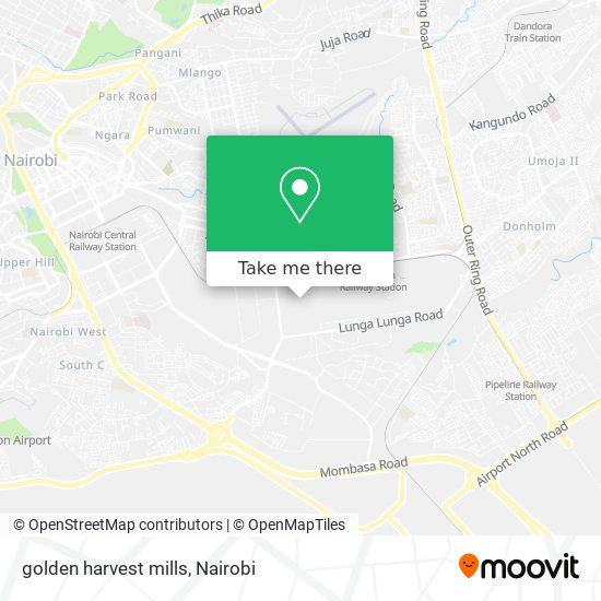 golden harvest mills map