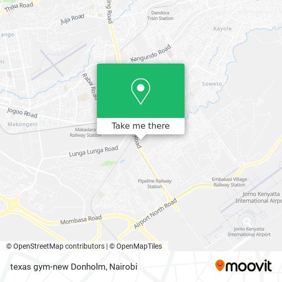 texas gym-new Donholm map
