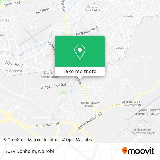 AAR Donholm map