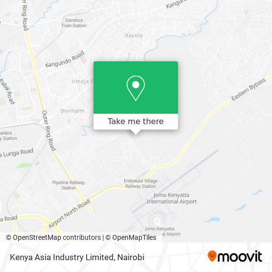 Kenya Asia Industry Limited map