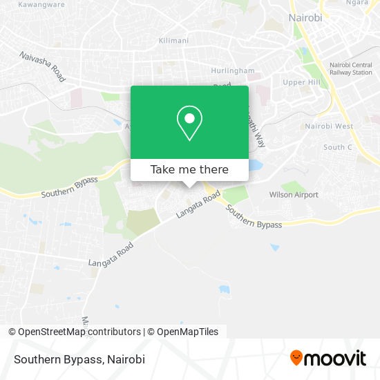 Southern Bypass map