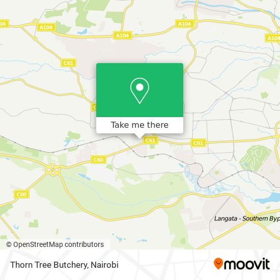 Thorn Tree Butchery map