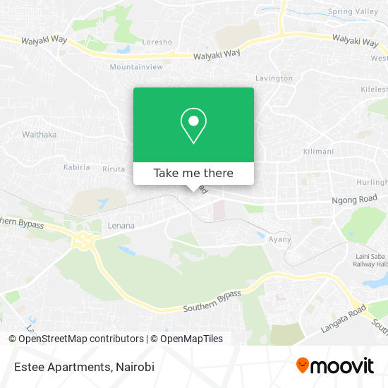Estee Apartments map