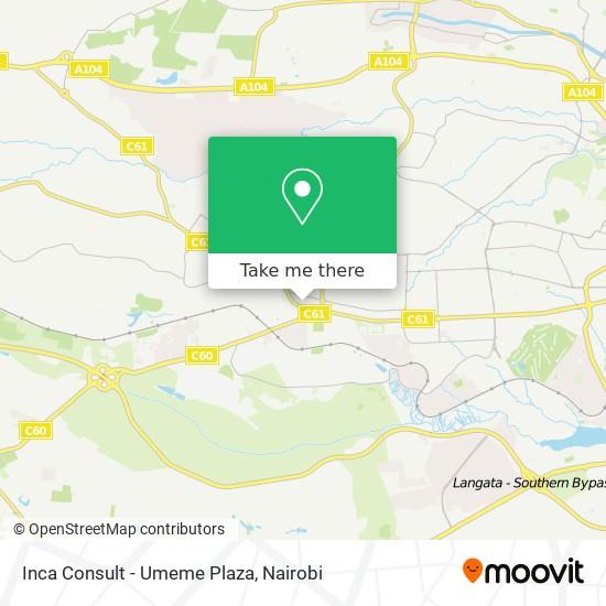 Inca Consult - Umeme Plaza map