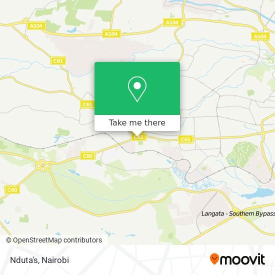 Nduta's map