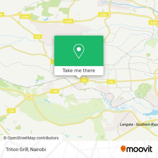 Triton Grill map