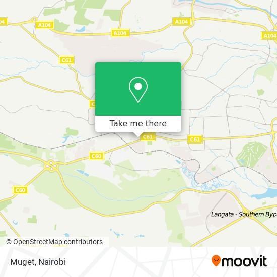 Muget map