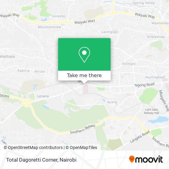 Total Dagoretti Corner map