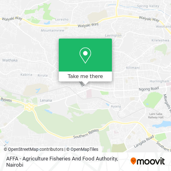 AFFA - Agriculture Fisheries And Food Authority map