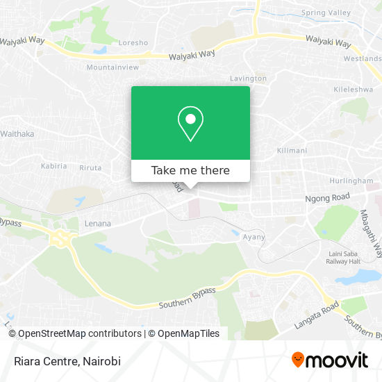 Riara Centre map