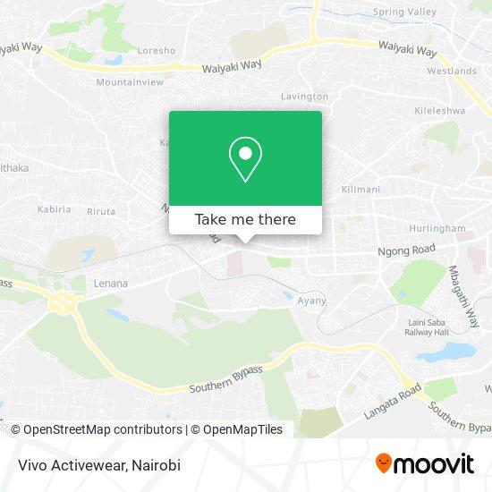 Vivo Activewear map