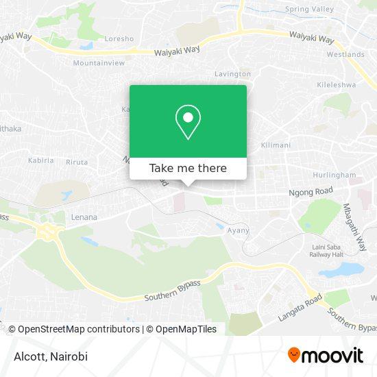 Alcott map