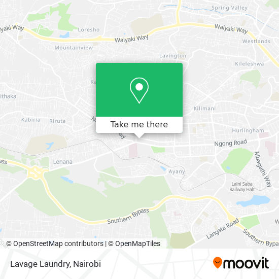 Lavage Laundry map