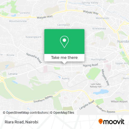 Riara Road map