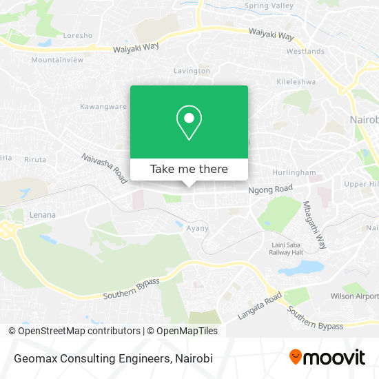 Geomax Consulting Engineers map