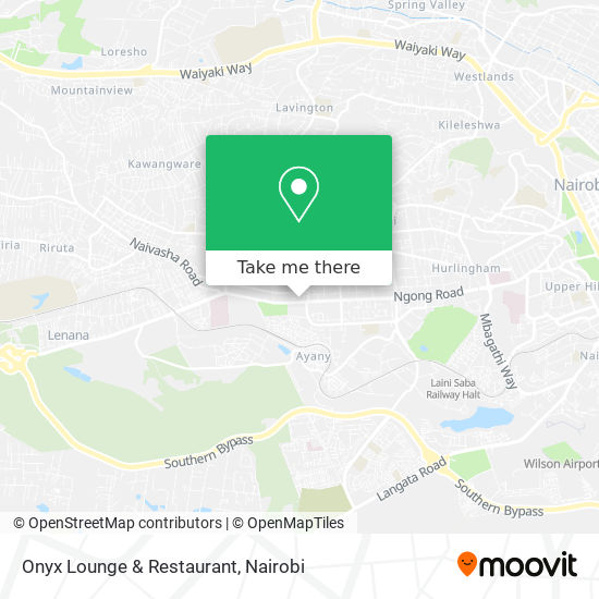 Onyx Lounge & Restaurant map