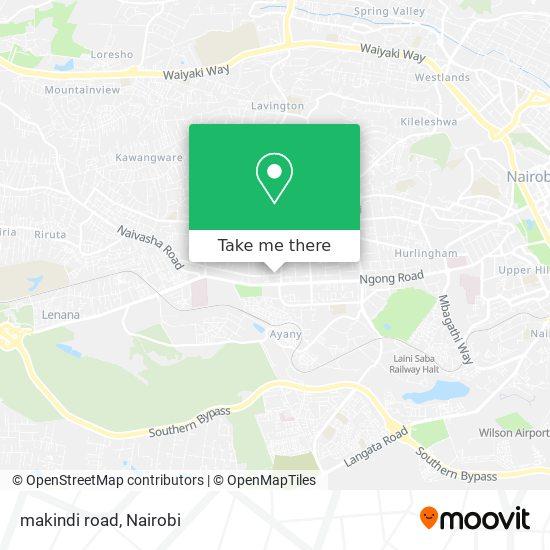 makindi road map