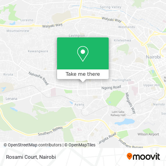 Rosami Court map