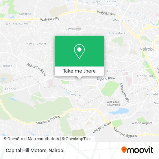 Capital Hill Motors map