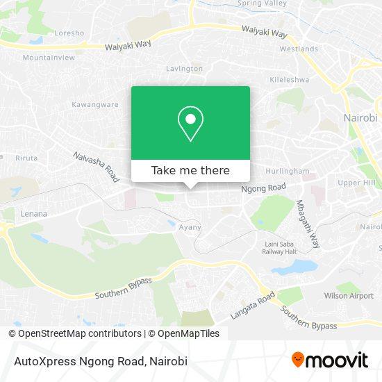 AutoXpress Ngong Road map