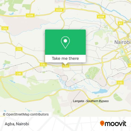 Agba map