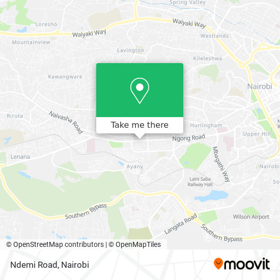 Ndemi Road map