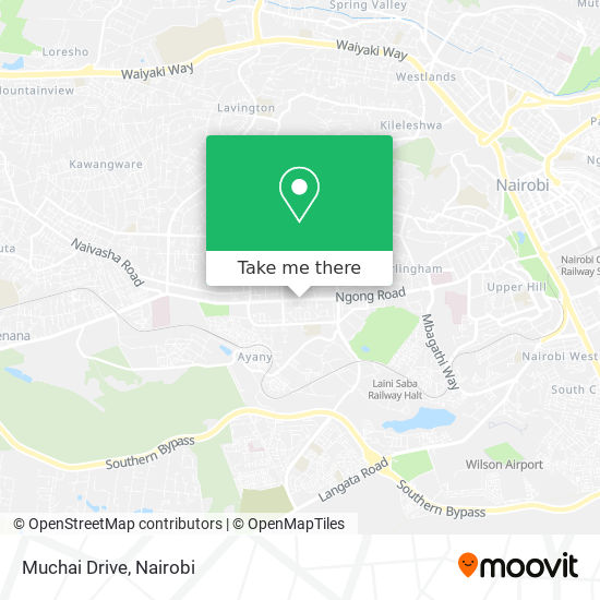 Muchai Drive map