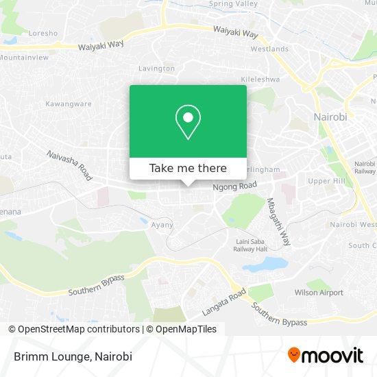 Brimm Lounge map