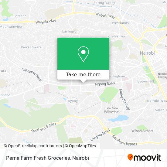 Pema Farm Fresh Groceries map