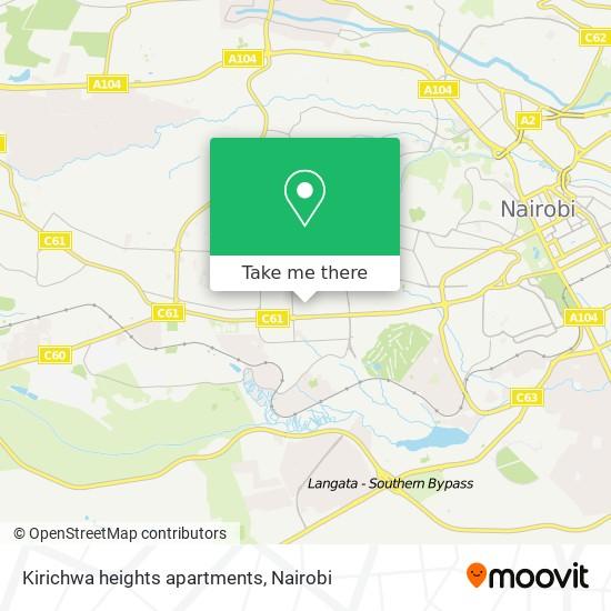 Kirichwa heights apartments map