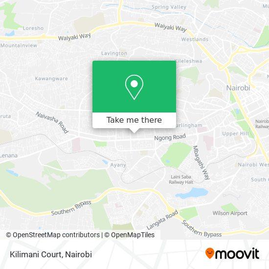 Kilimani Court map