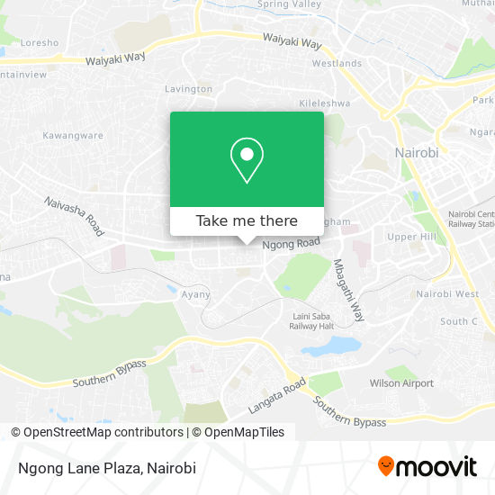 Ngong Lane Plaza map