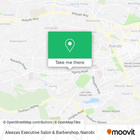 Aleezas Executive Salon & Barbershop map