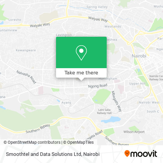 Smoothtel and Data Solutions Ltd map