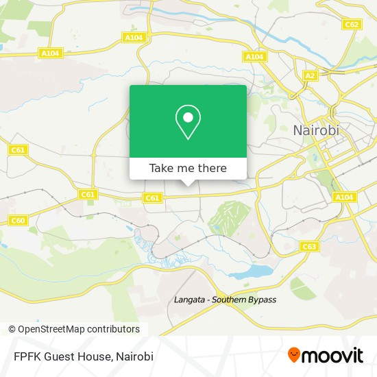 FPFK Guest House map