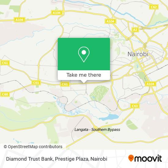 Diamond Trust Bank, Prestige Plaza map