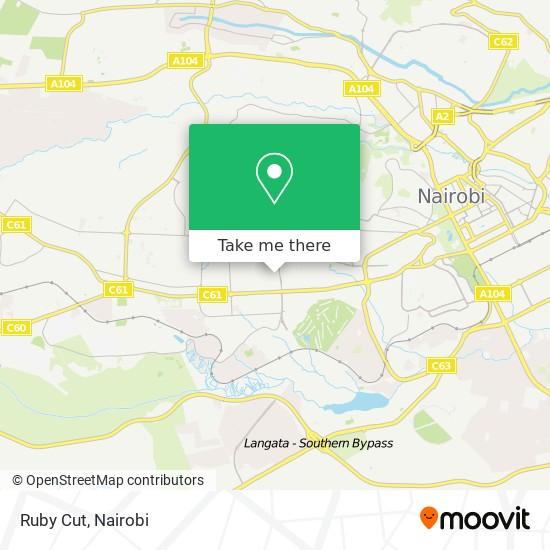 Ruby Cut map