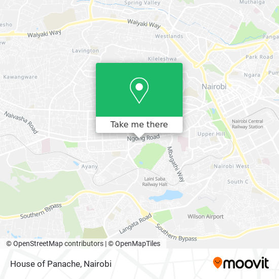 House of Panache map