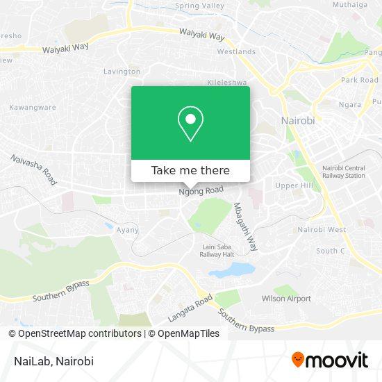 NaiLab map