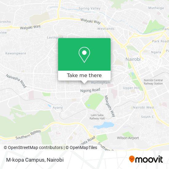 M-kopa Campus map