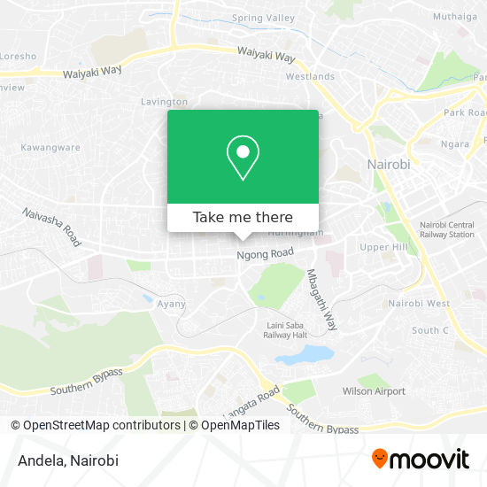Andela map