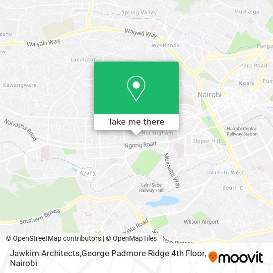 Jawkim Architects,George Padmore Ridge 4th Floor map