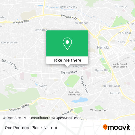 One Padmore Place map