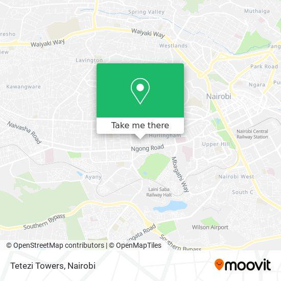 Tetezi Towers map