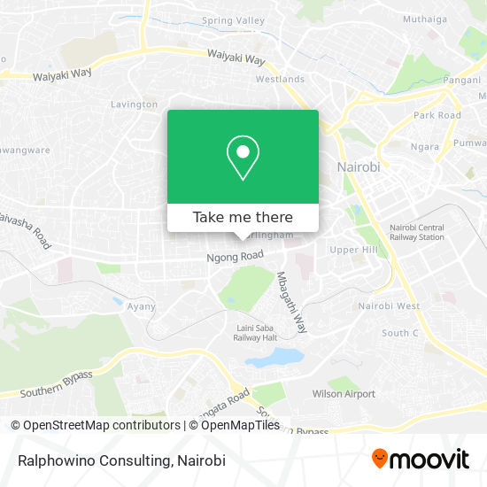 Ralphowino Consulting map