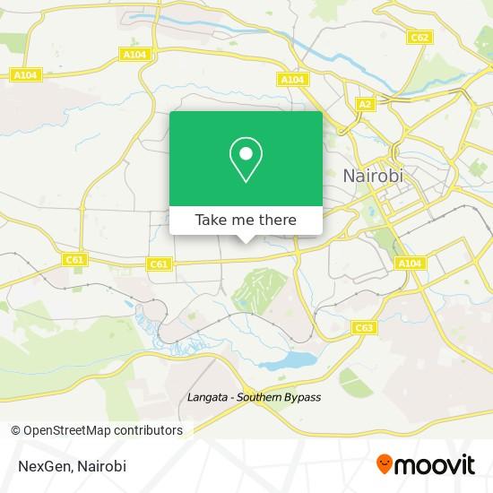 NexGen map