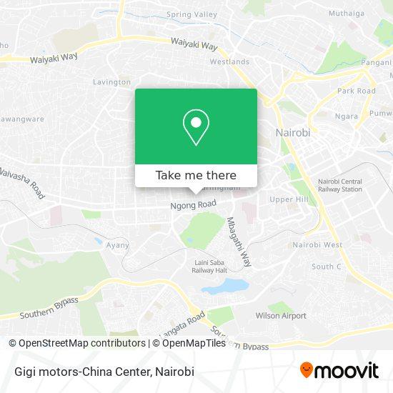 Gigi motors-China Center map